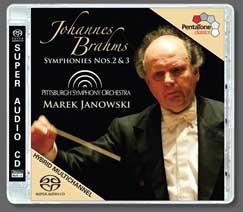 Brahms: Symphonies Nos. 2 and 3