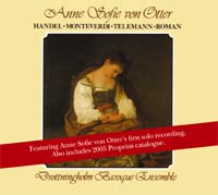 Otter, Anne Sofie von - Händel/Monteverdi/Telemann/Roman