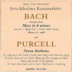 Bach, Purcell - Stockholm Chamber Choir