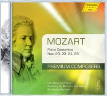 Mozart: Piano Concertos Nos. 20, 23, 24, 25