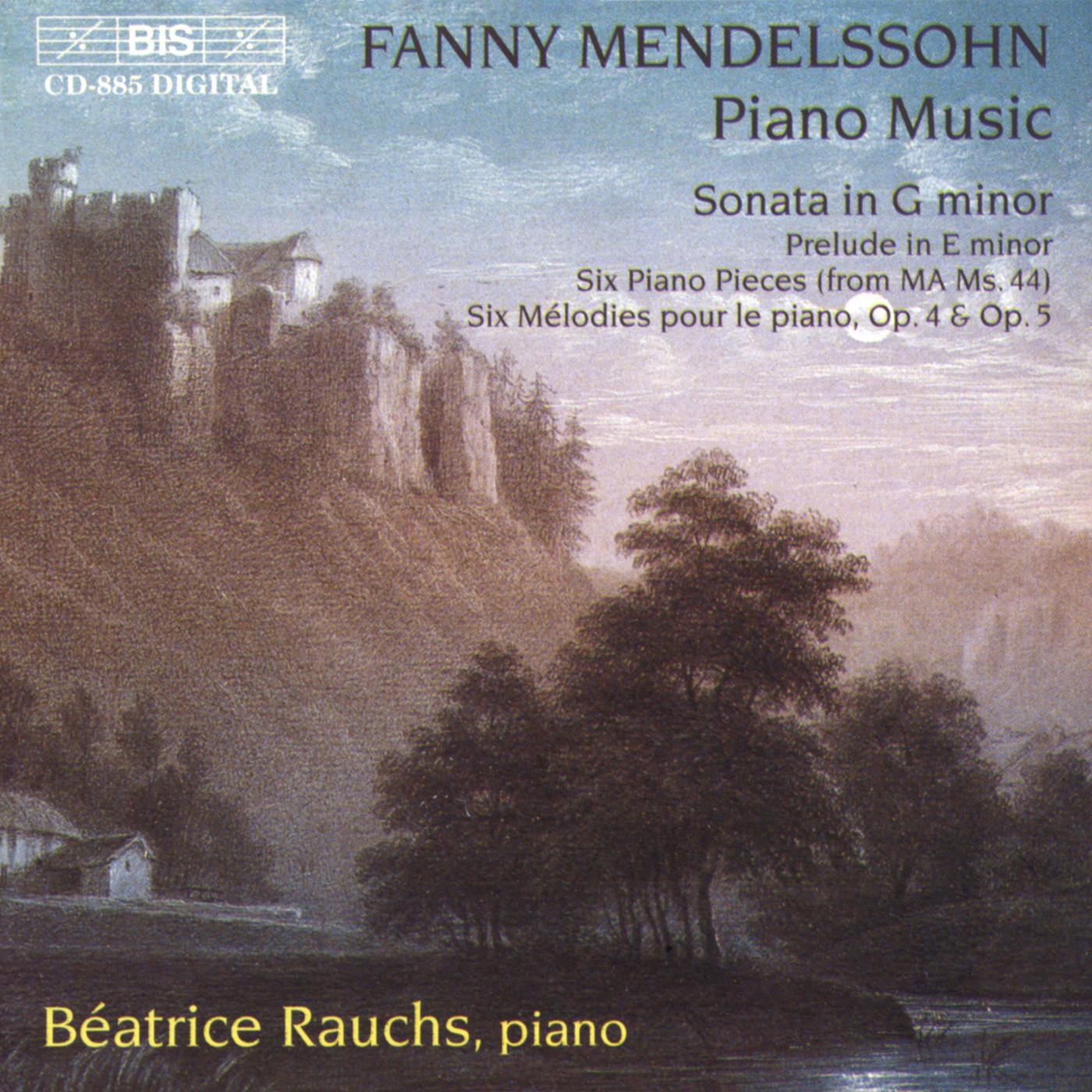 Mendelssohn's sister finally has her own musical genius honoured