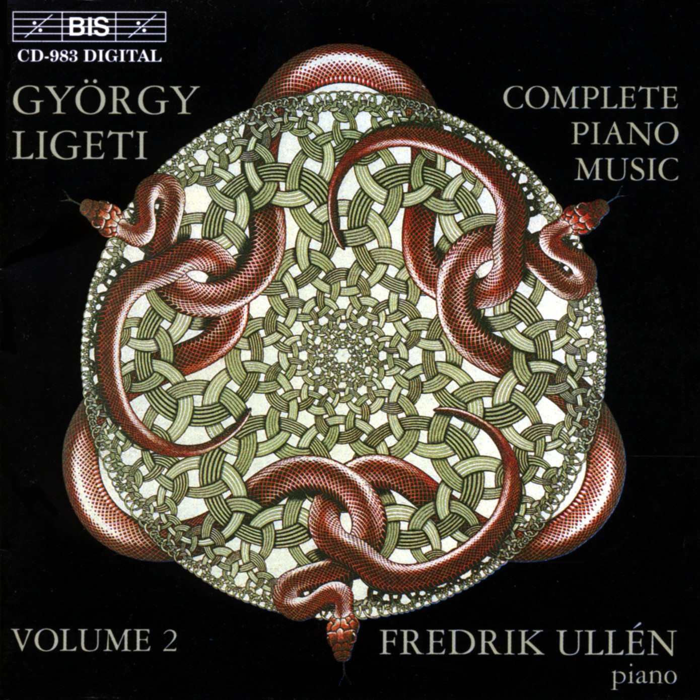 György Ligeti - Fredrik Ullén - The Complete Piano Music Volume 1