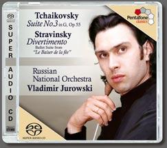 Tchaikovsky: Suite No. 3 - Stravinsky: Divertimento