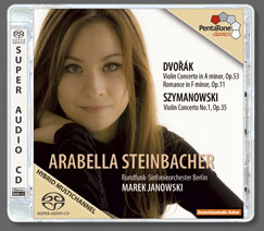 Szymanowski - Dvorák: Violin Concertos