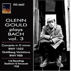 Glenn Gould plays Bach, Vol. 3 (1958)