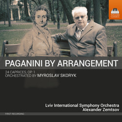 Paganini: 24 Caprices, Op. 1, MS 25 (Arr. M. Skoryk for Orchestra)