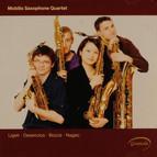 Ligeti: 6 Bagatelles - Desenclos: Quatuor - Bozza: Andante et scherzo - Nagao: Quatuor de Saxophones
