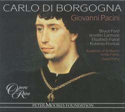 Pacini: Carlo Di Borgogna