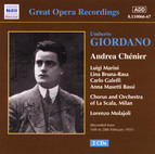 Giordano: Andrea Chenier (La Scala) (1928-1931)