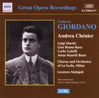 Giordano: Andrea Chenier (La Scala) (1928-1931)