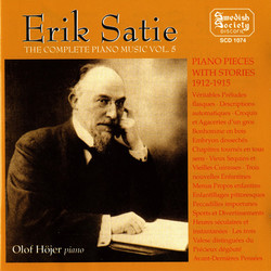 Satie: Complete Piano Music, Vol. 5