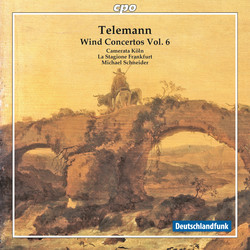 Telemann: Wind Concertos, Vol. 6