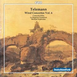 Telemann: Wind Concertos, Vol. 6