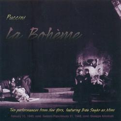 Puccini, G.: Bohème (La) [Opera] (1940, 1948)