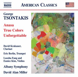 George Tsontakis: Anasa - True Colors - Unforgettable