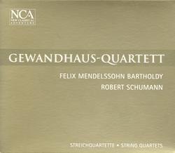 Mendelssohn, Felix: String Quartet No. 3 / Schumann, R.: String Quartet No. 1