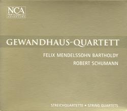 Mendelssohn, Felix: String Quartet No. 3 / Schumann, R.: String Quartet No. 1