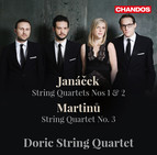 Janáček: String Quartets Nos. 1 & 2 - Martinů: String Quartet No. 3