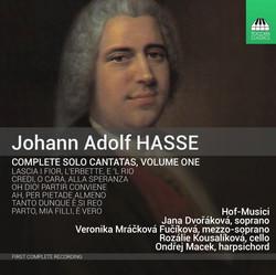 Hasse: Complete Solo Cantatas, Vol. 1