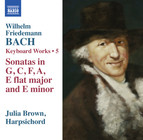 W.F. Bach: Keyboard Works, Vol. 5