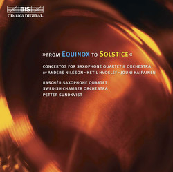 From Equinox to Solstice - Raschr Saxophone Quartet