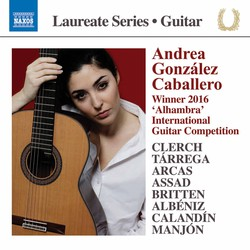 Clerch, Tárrega, Arcas, Assad, Britten, Albéniz, Calandín & Manjón: Works for Guitar