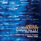 Lutosławski: Symphonies Nos. 1 and 4 & Jeux vénitiens