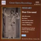 Mozart: Don Giovanni (Glyndebourne) (1936)