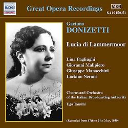 Donizetti: Lucia Di Lammermoor (Pagliughi, Malipiero) (1939)