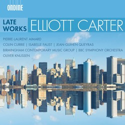 Carter: Late Works