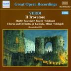Verdi: Trovatore (Il) (La Scala, Molajoli) (1930)