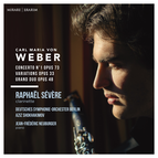 Carl Maria von Weber: Concerto No. 1, Variations & Grand duo