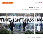 Bach & Kurtg: Works for Cello and Piano