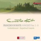 Durante, F.: Concertos for Strings / Harpsichord Concerto in B Flat Major