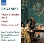 Paganini: Violin Concerto No. 5 - I palpiti