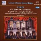 Verdi: Ballo in Maschera (Un) (Gigli, Caniglia) (1943)