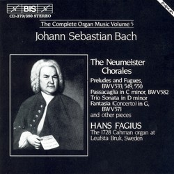 J.S. Bach - Complete Organ Music, Vol.5