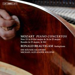Mozart - Piano Concertos 15 & 16