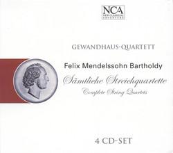 Mendelssohn, Felix: String Quartets (Complete)