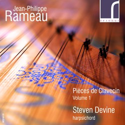 Rameau: Pièces de Clavecin, Volume 1