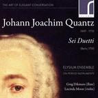 Quantz: Sei Duetti (Six Duets) Op. 2