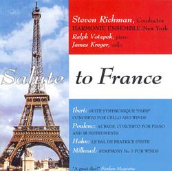 Hahn: Le Bal De Beatrice D'Este / Milhaud: Symphonie De Chambre No. 5 / Ibert: Cello Concerto / Suite Symphonique,
