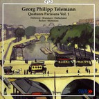 Telemann: Quatuors Parisiens, Vol. 1