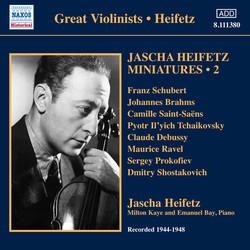 Jascha Heifetz Miniatures, Vol. 2 (1944-1948)