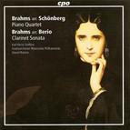 Brahms, J.: Piano Quartet No. 1 (Orch. A. Schoenberg) / Clarinet Sonata No. 1