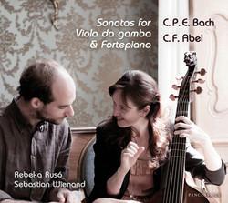 C.P.E. Bach & Abel: Sonatas for Viola da gamba & Fortepiano