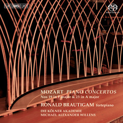 Mozart – Piano Concertos Nos 19 and 23