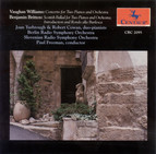 Vaughan Williams, R.: Concerto for 2 Pianos / Britten, B.: Scottish Ballad / Introduction and Rondo Alla Burlesca