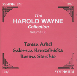 The Harold Wayne Collection, Vol. 38
