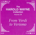 The Harold Wayne Collection, Vol. 39
